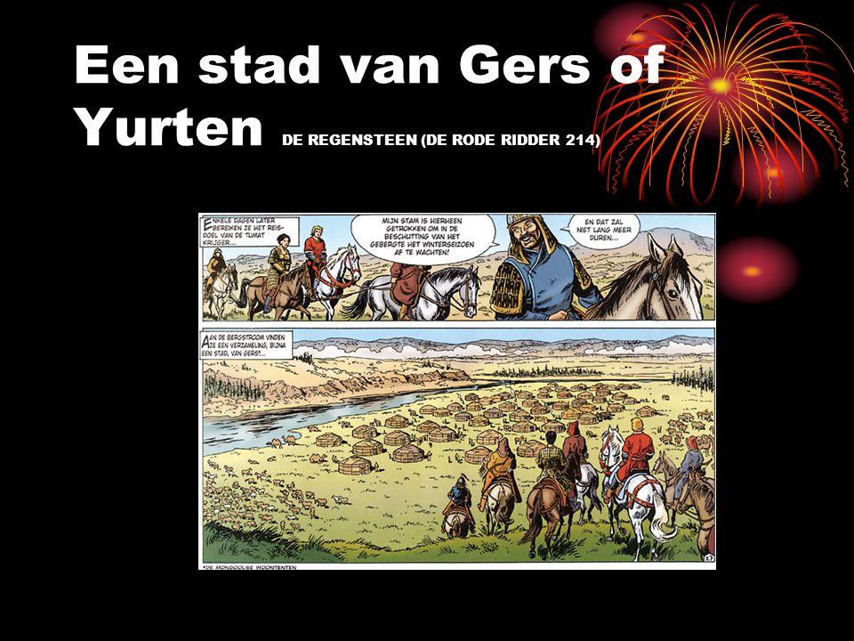 Een stad van Gers of Yurten DE REGENSTEEN (DE RODE RIDDER 214)