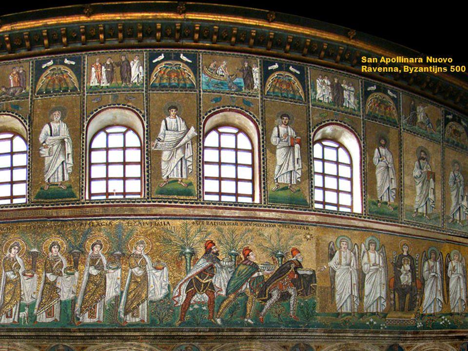 San Apollinara Nuovo Ravenna, Byzantijns 500