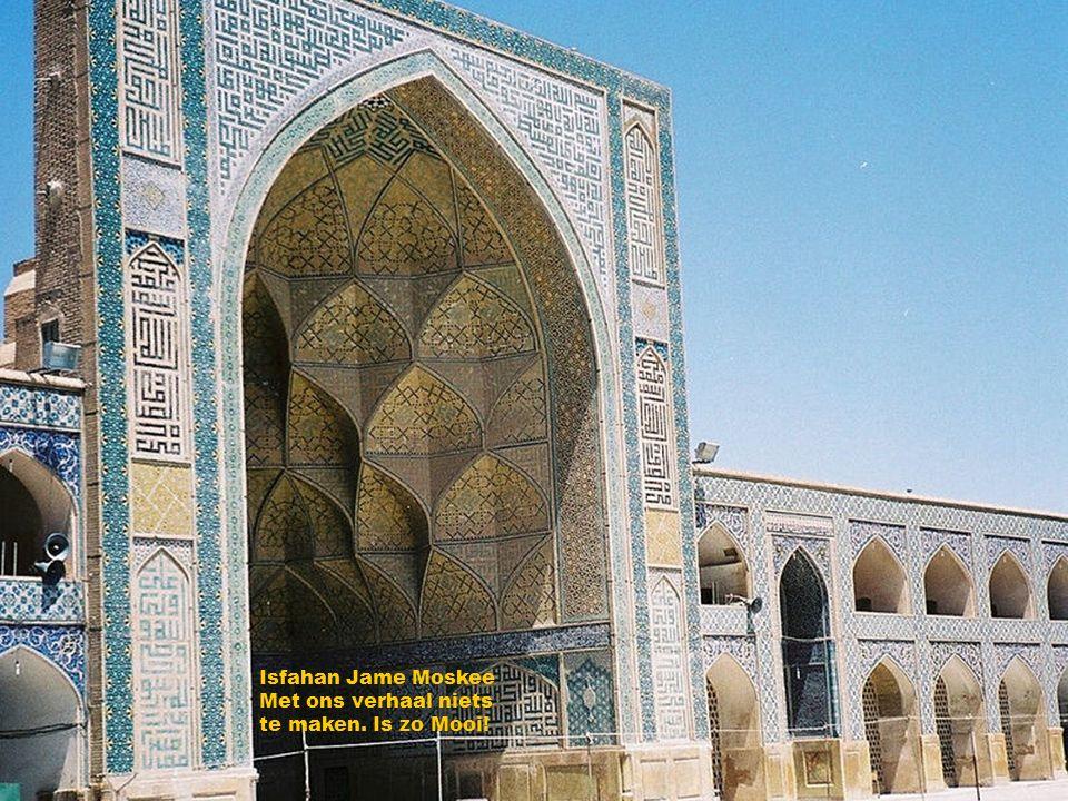 Isfahan Jame Moskee Met ons verhaal niets te maken. Is zo Mooi!