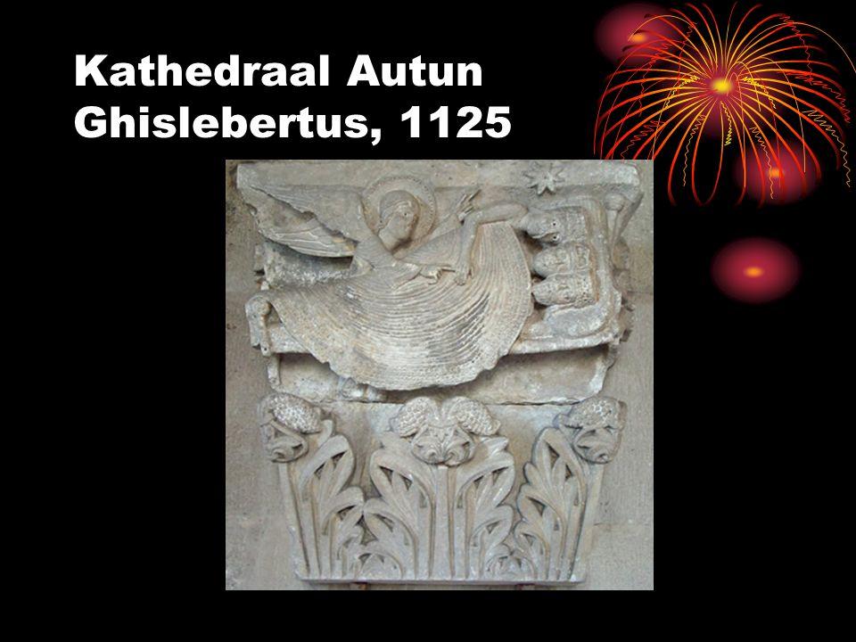 Kathedraal Autun Ghislebertus, 1125