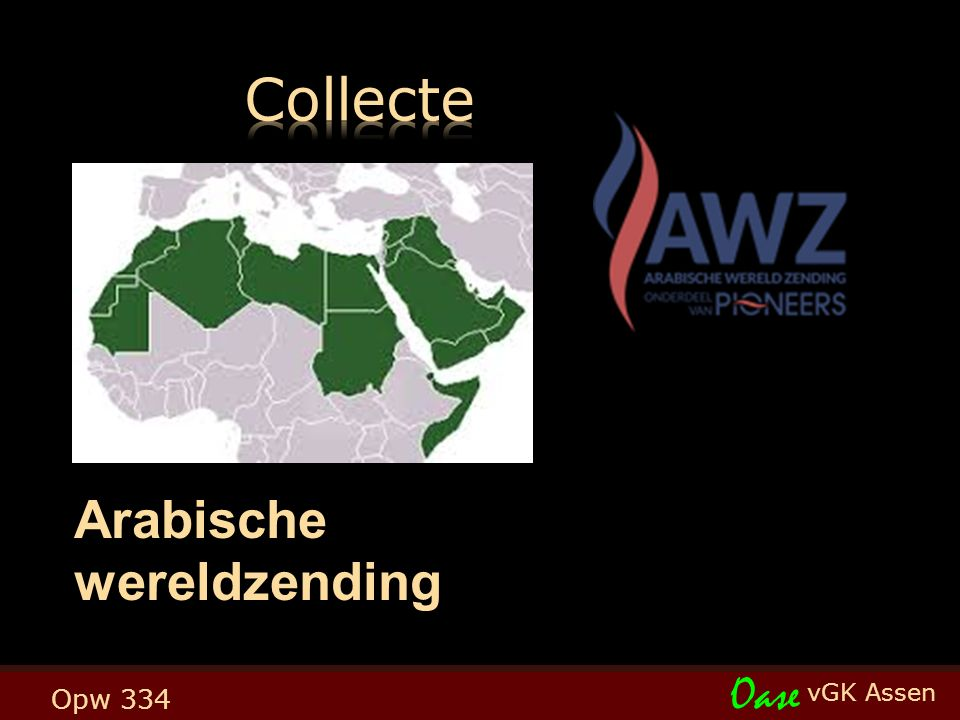 vGK Assen Oase Opw 334 Arabische wereldzending