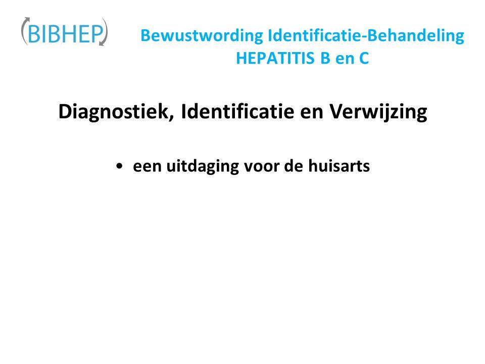 Bewustwording Identificatie-Behandeling HEPATITIS B en C Diagnostiek, Identificatie en Verwijzing een uitdaging voor de huisarts