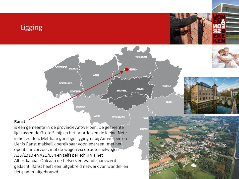Ligging Ranst is een gemeente in de provincie Antwerpen.