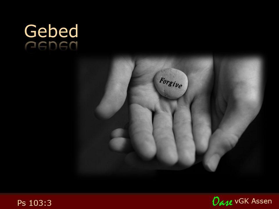 vGK Assen Oase Ps 103:3