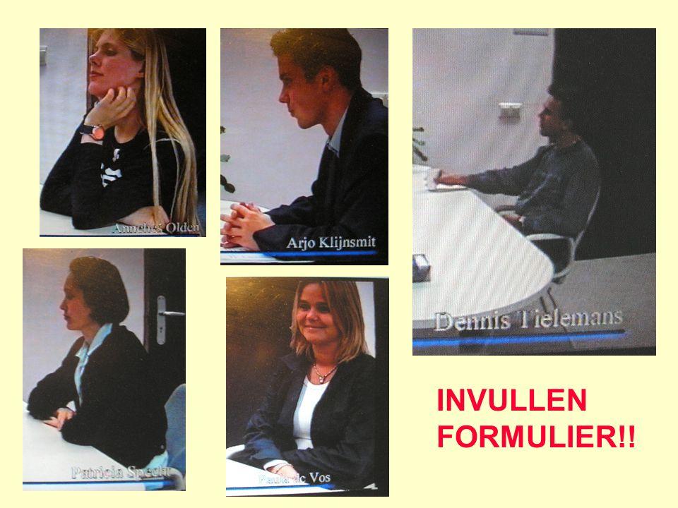 INVULLEN FORMULIER!!