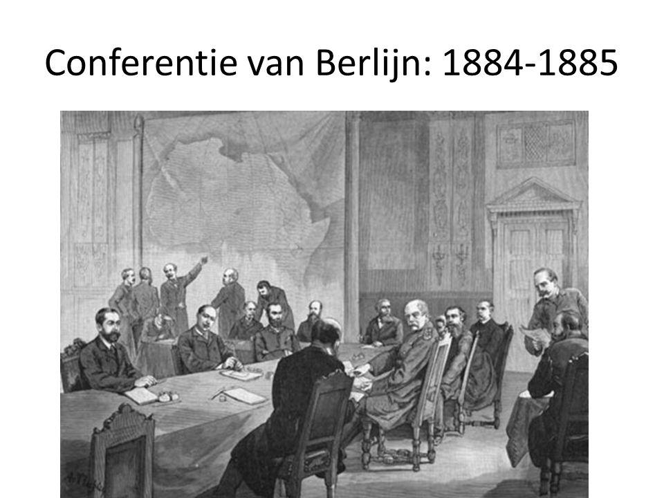 Conferentie van Berlijn: 1884-1885