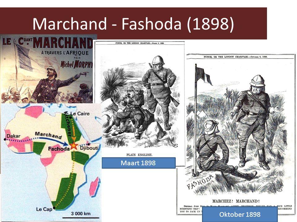Marchand - Fashoda (1898) Maart 1898 Oktober 1898
