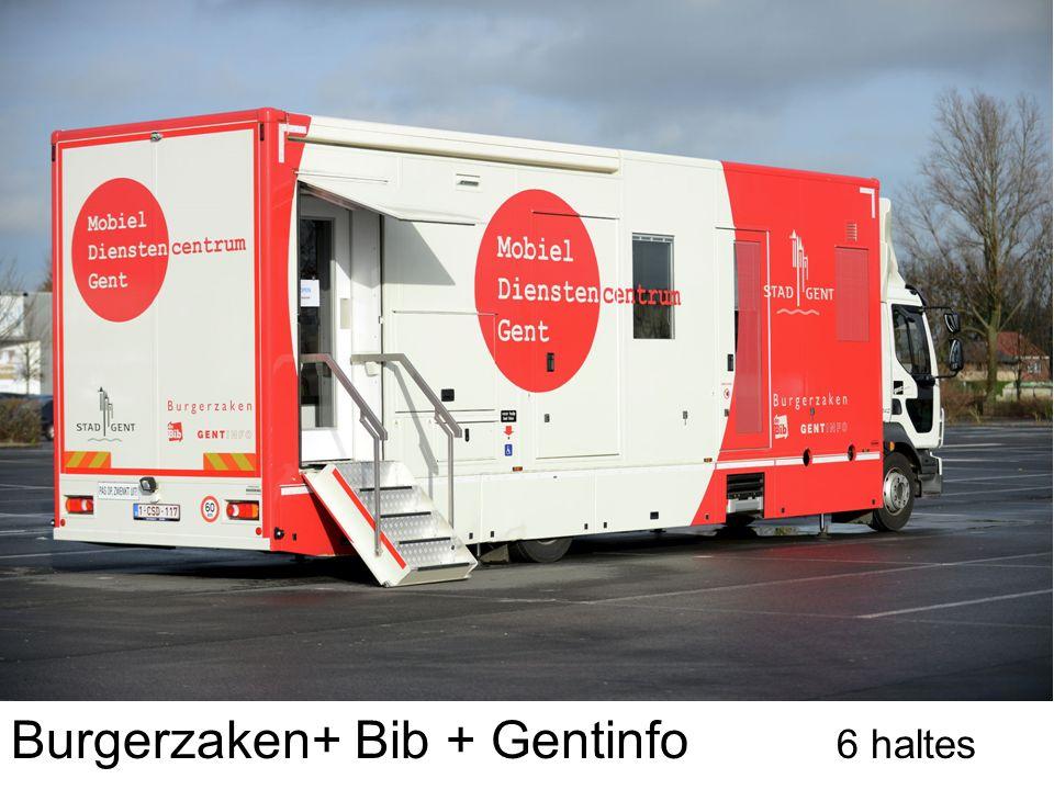 Burgerzaken+ Bib + Gentinfo 6 haltes