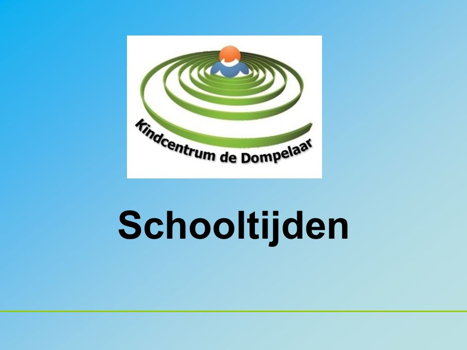 18 januari 2016Ouderavond schooltijden2 Agenda 1.Welkom.