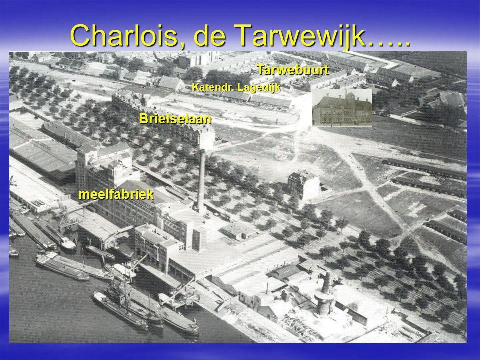 Charlois, de Tarwewijk….. meelfabriek Tarwebuurt Brielselaan Katendr. Lagedijk