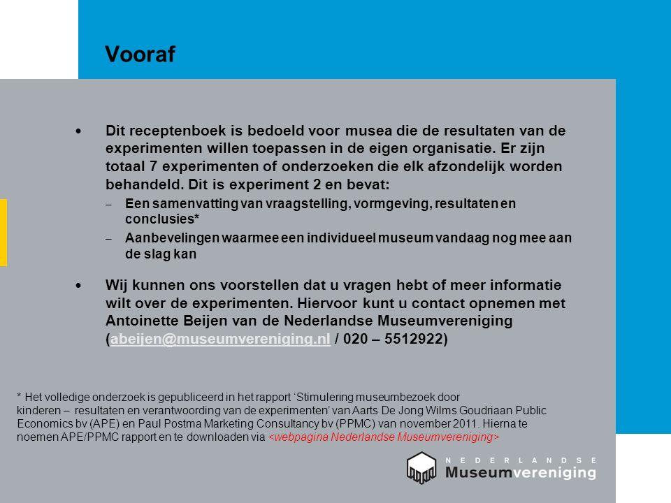 Inhoud Inleiding en vraagstelling Vormgeving Resultaten Conclusies Aanbevelingen voor musea