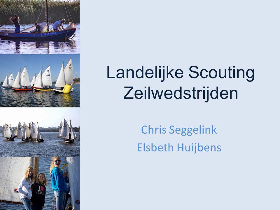 Landelijke Scouting Zeilwedstrijden Chris Seggelink Elsbeth Huijbens