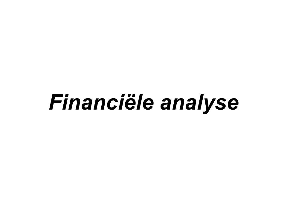 Jaarrekening Momentopname van systematische registraties Componenten –Balans –Resultatenrekening –Toelichting –Sociale balans –Cash flow tabel