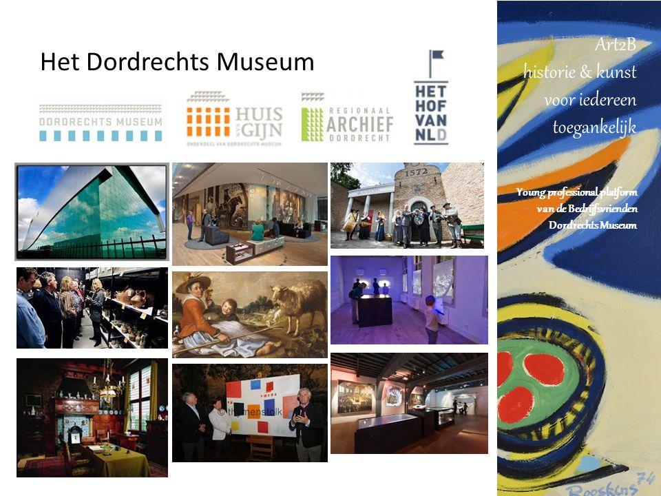 Art2B historie & kunst voor iedereen toegankelijk Young professional platform van de Bedrijfsvrienden Dordrechts Museum Het Dordrechts Museum