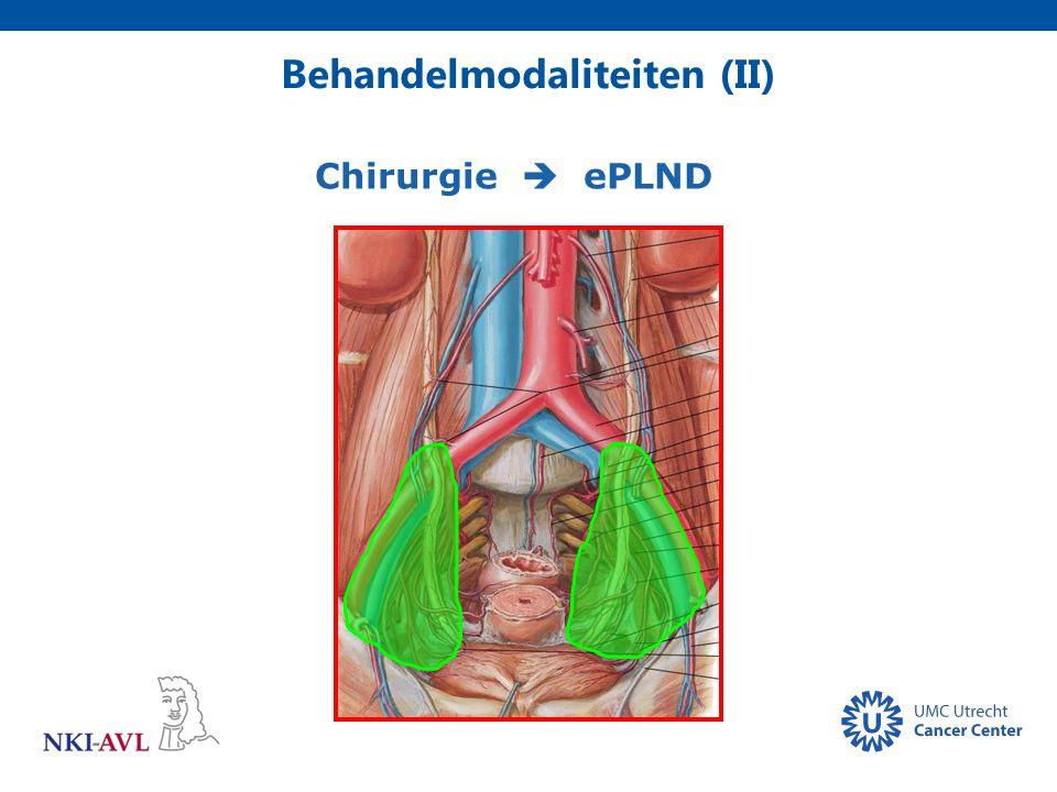 Behandelmodaliteiten (II) Chirurgie  ePLND