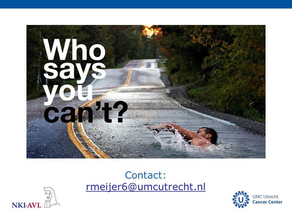 Contact: rmeijer6@umcutrecht.nl