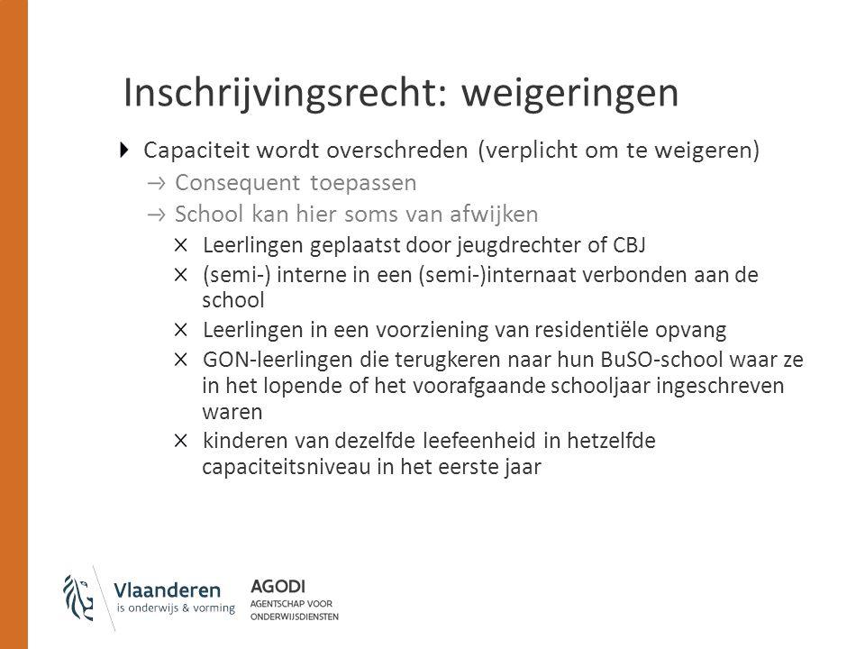 Inschrijvingsrecht: M-decreet M-decreet versterkt inschrijvingsrecht van leerlingen met specifieke onderwijsbehoeften in het gewoon onderwijs Onverkort inschrijvingsrecht voor leerlingen die gemeenschappelijk curriculum volgen (bvb.