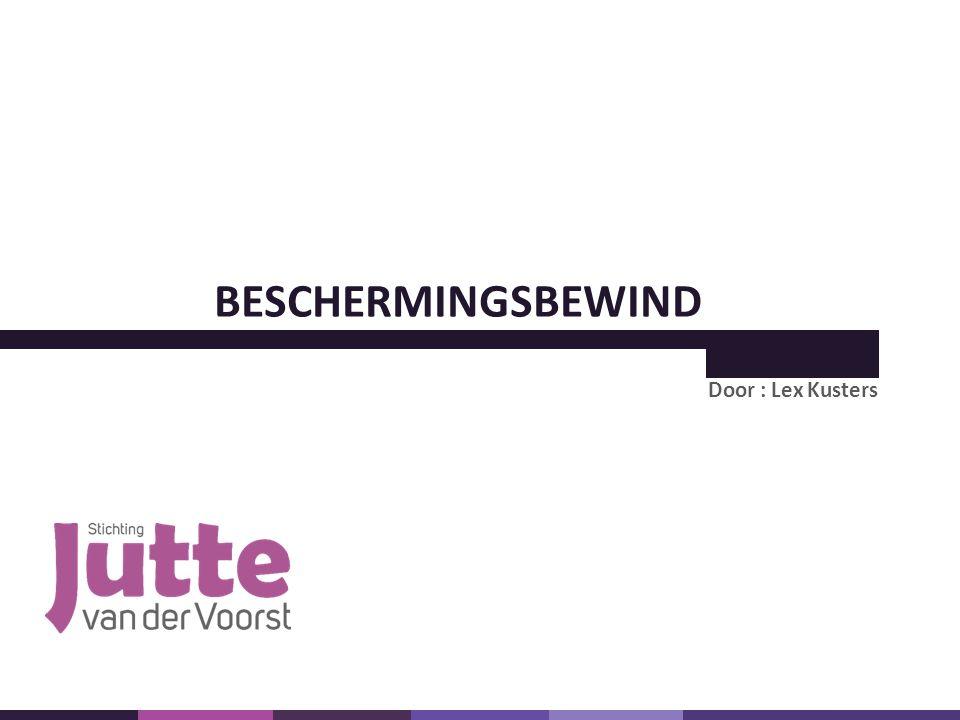 BESCHERMINGSBEWIND Door : Lex Kusters