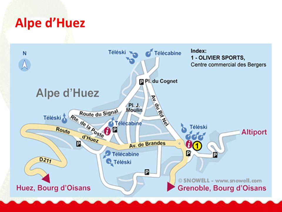 Appartementen in Alpe d'Huez