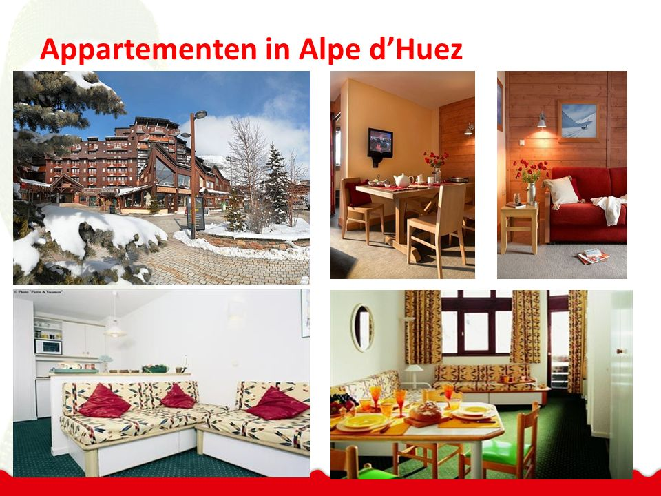 Appartementen in Alpe d'Huez