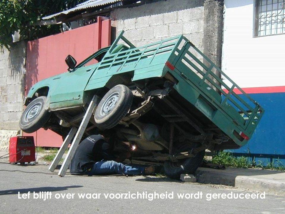 www. 21 Lobsterstreet.com 22 Lef blijft over waar voorzichtigheid wordt gereduceerd