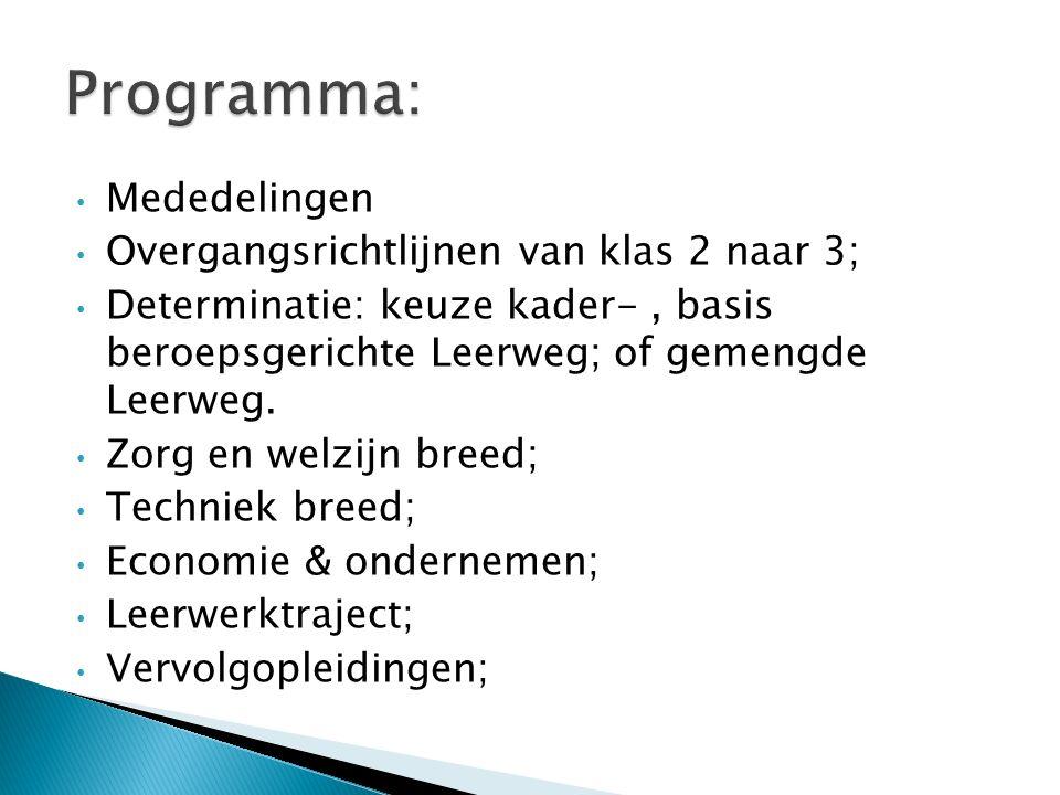 Techniek breed Nederlands (Ne) Engels (En) Wiskunde (Wi) Natuur- Scheikunde 1 (Nask1) Maatschappijleer 1 (Ma1) Kunstvakken 1 (Kv1) Lichamelijke Opvoeding (Lo) Studieles