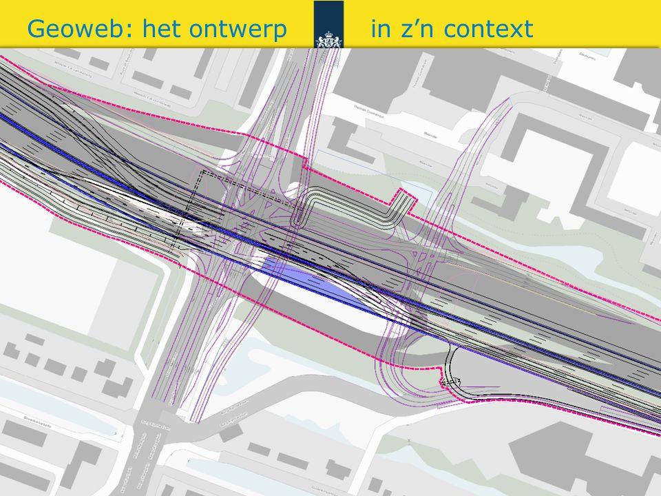 Rijkswaterstaat 10gis RWS BEDRIJFSINFORMATIE Geoweb: het ontwerp in z'n context