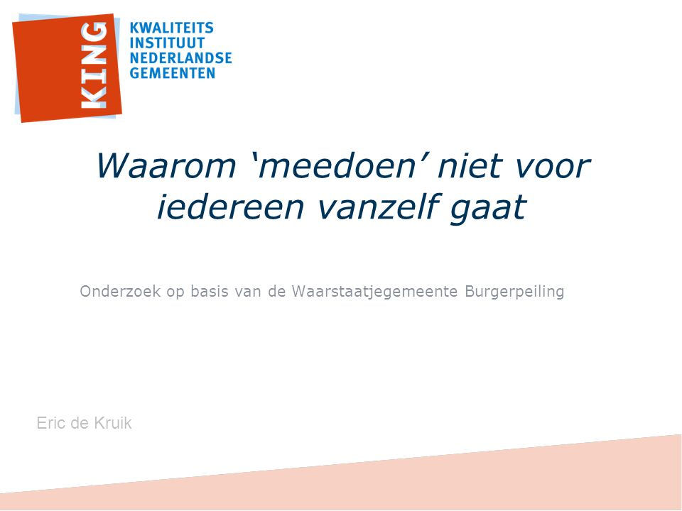 23% heeft te maken met een beperking circa drie miljoen volwassen Nederlanders met een grote variatie aan beperkingen en aanverwante uitdagingen.