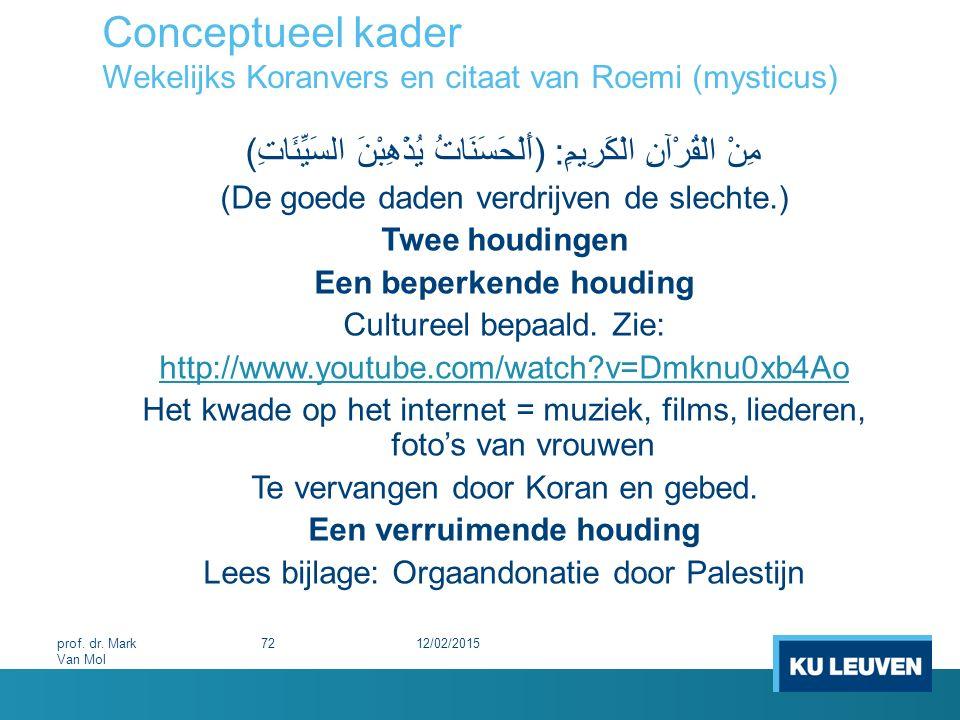 Conceptueel kader Wekelijks Koranvers en citaat van Roemi (mysticus) مِنْ الْقُرْآنِ الْكَرِيمِ: (أَلْحَسَنَاتُ يُذْهِبْنَ السَيِّئَاتِ) (De goede dad