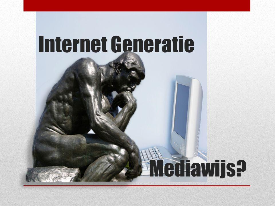 Internet Generatie Mediawijs