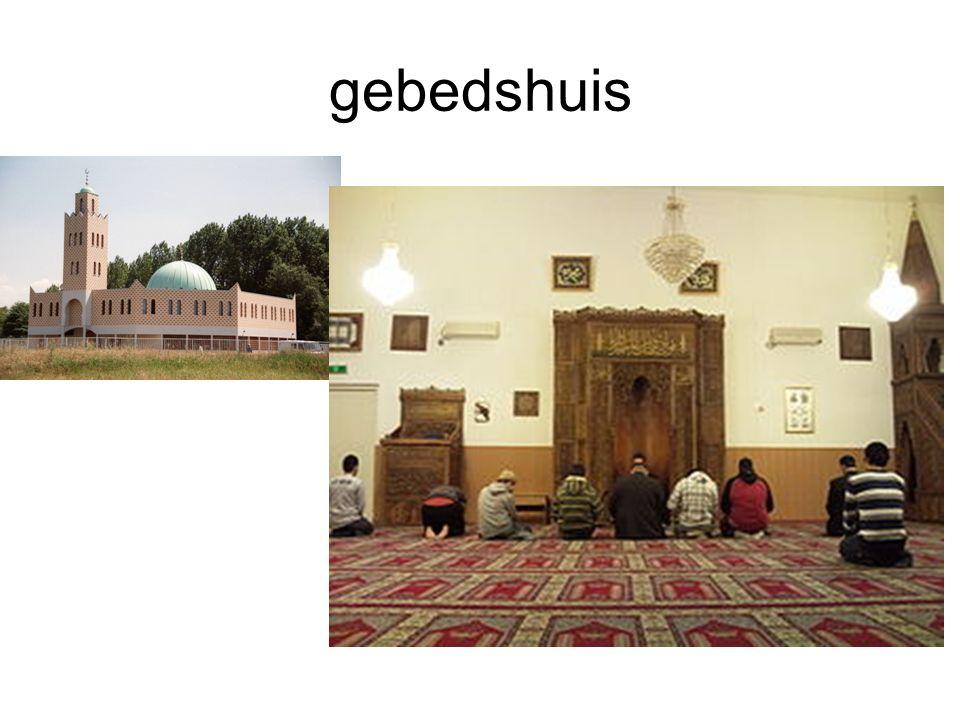 gebedshuis -Moskee