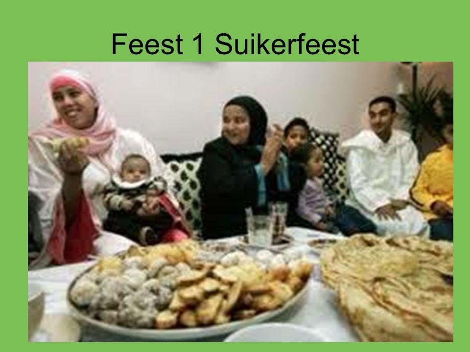 Feest 1 Suikerfeest