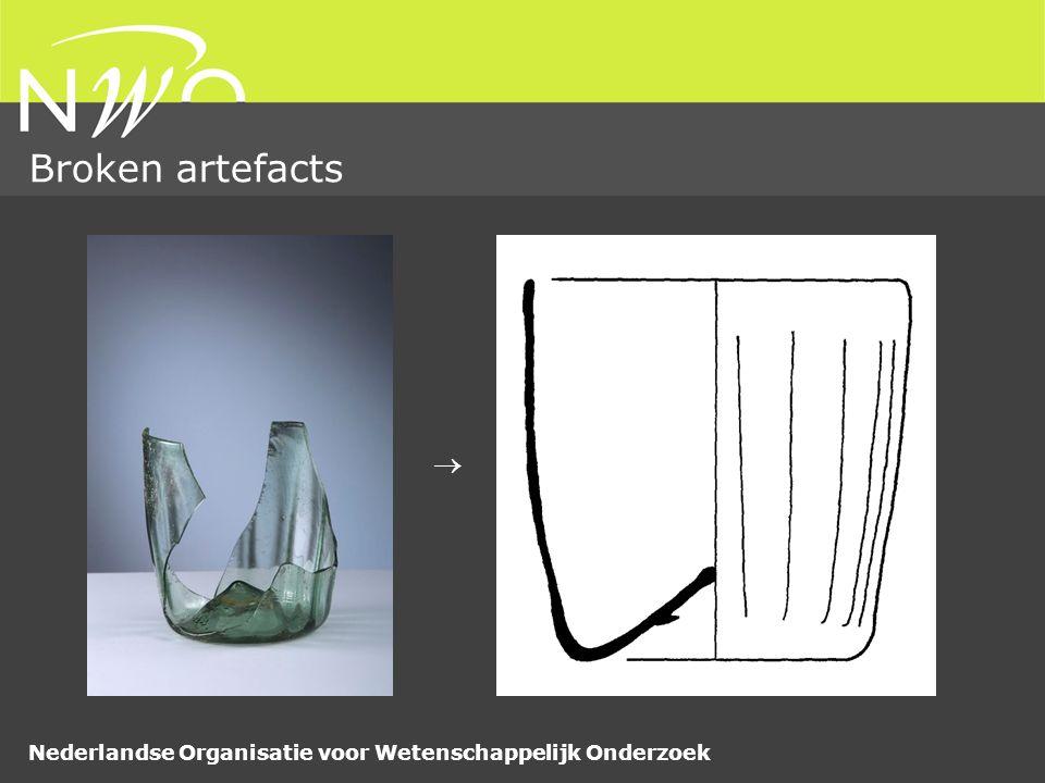 Nederlandse Organisatie voor Wetenschappelijk Onderzoek Broken artefacts 