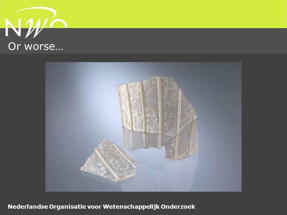 Nederlandse Organisatie voor Wetenschappelijk Onderzoek Or worse…