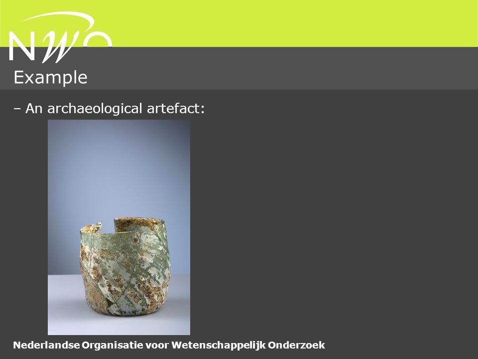 Nederlandse Organisatie voor Wetenschappelijk Onderzoek Example –And its corresponding drawing: 
