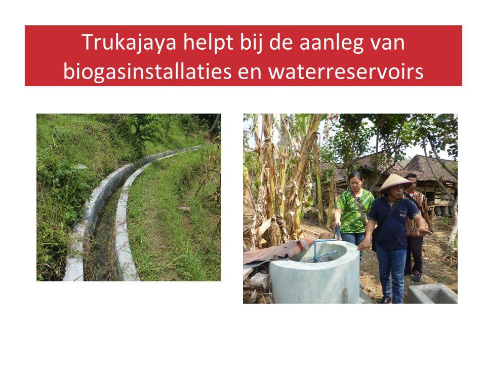 Door kennis en training leert de lokale bevolking over duurzame landbouw om in hun levensonderhoud te voorzien.