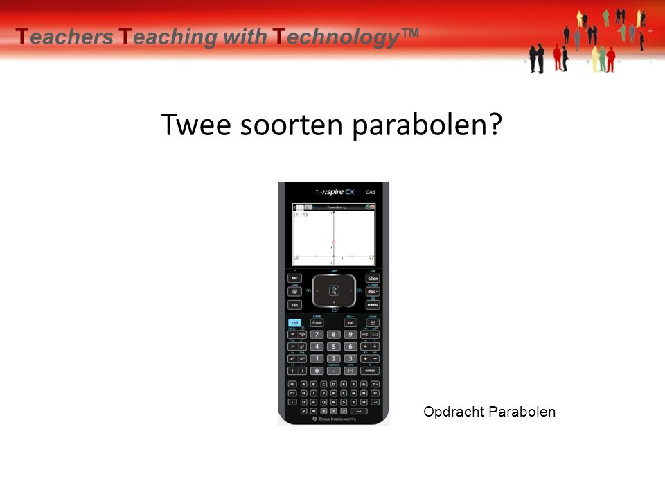 Spiegelen Teachers Teaching with Technology™ Constructie van het brandpunt Opdracht Constructie brandpunt