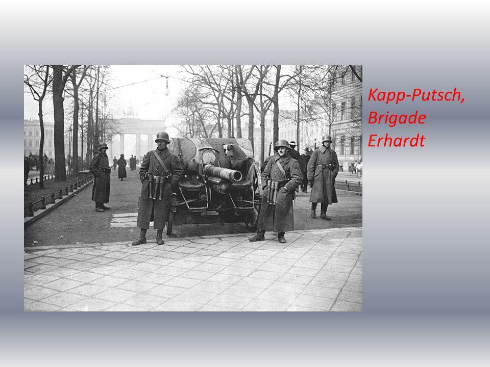 Kapp-Putsch, Brigade Erhardt