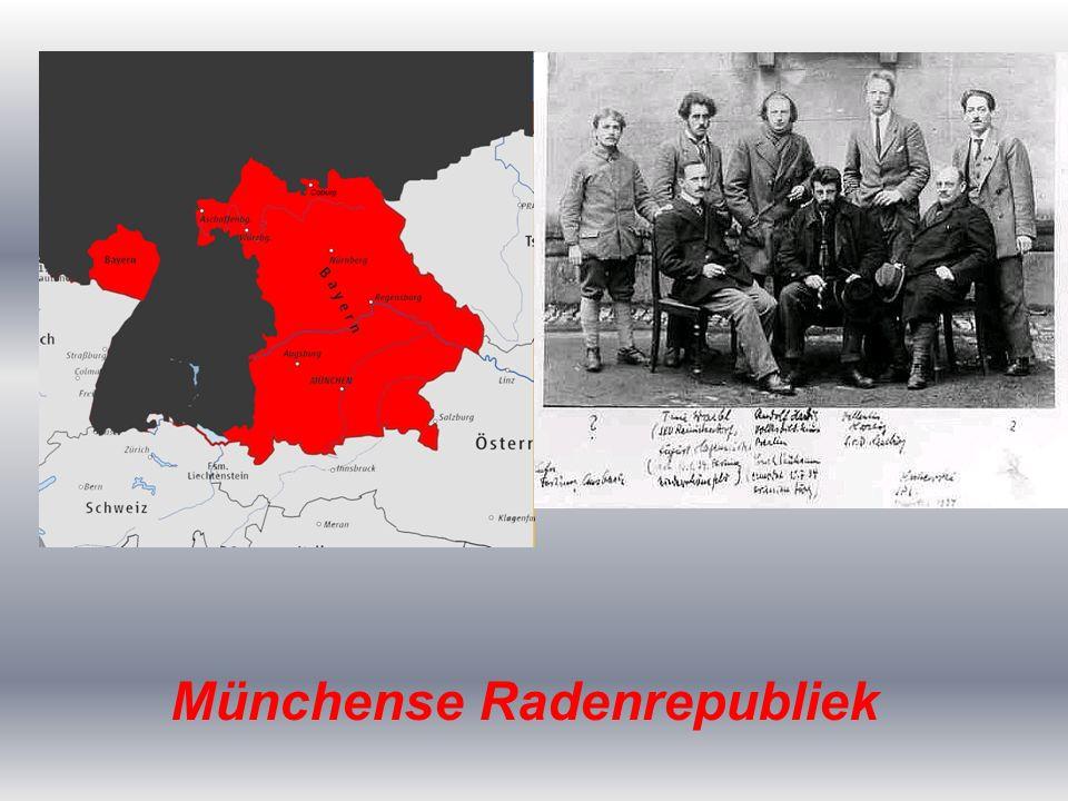De WO I generaals Ludendorff en Von Hindenburg (latere president) verkondigde het idee dat Duitsland helemaal niet verslagen was.