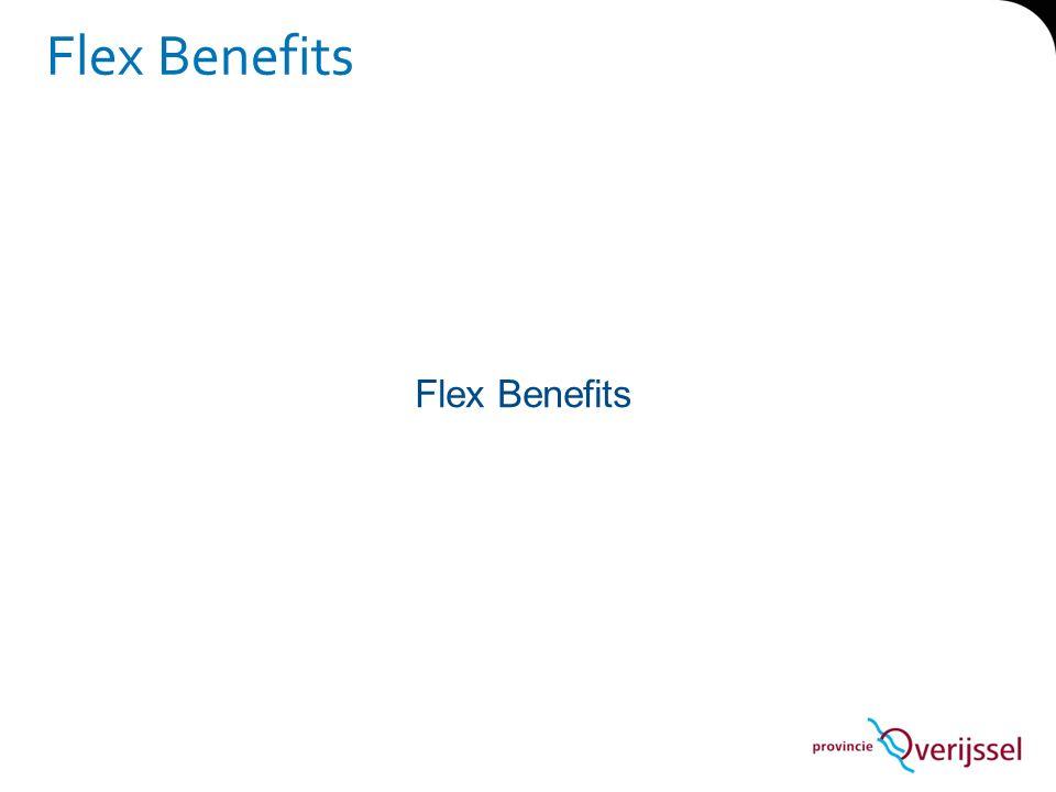 Flex Benefits