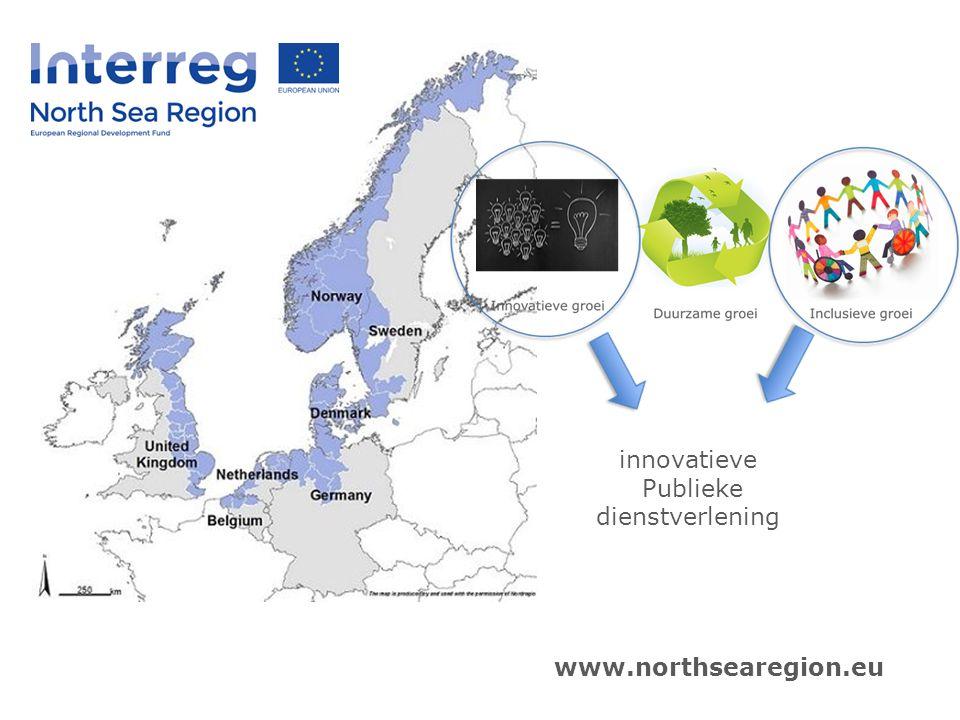 innovatieve Publieke dienstverlening www.northsearegion.eu