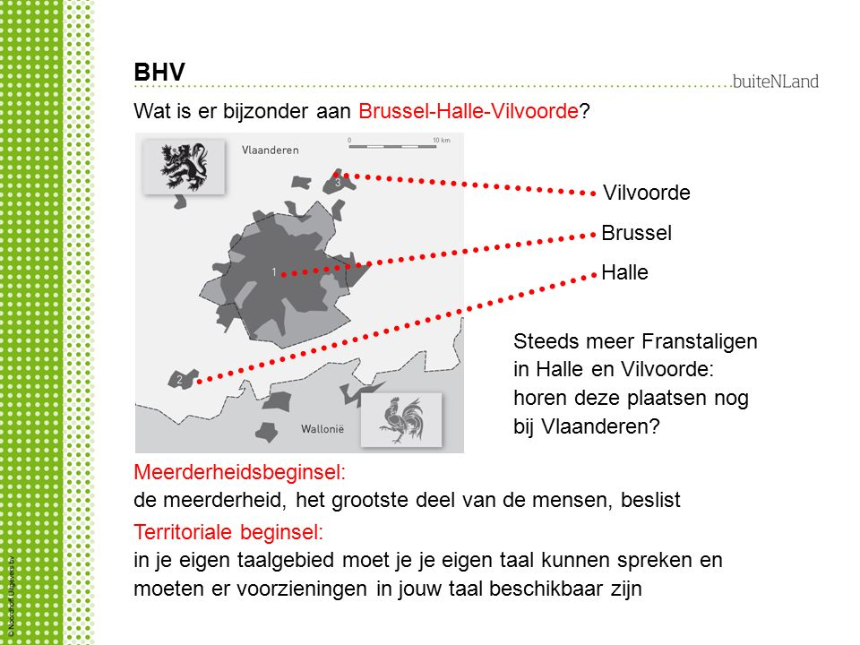 BHV Wat is er bijzonder aan Brussel-Halle-Vilvoorde? Steeds meer Franstaligen in Halle en Vilvoorde: horen deze plaatsen nog bij Vlaanderen? Vilvoorde