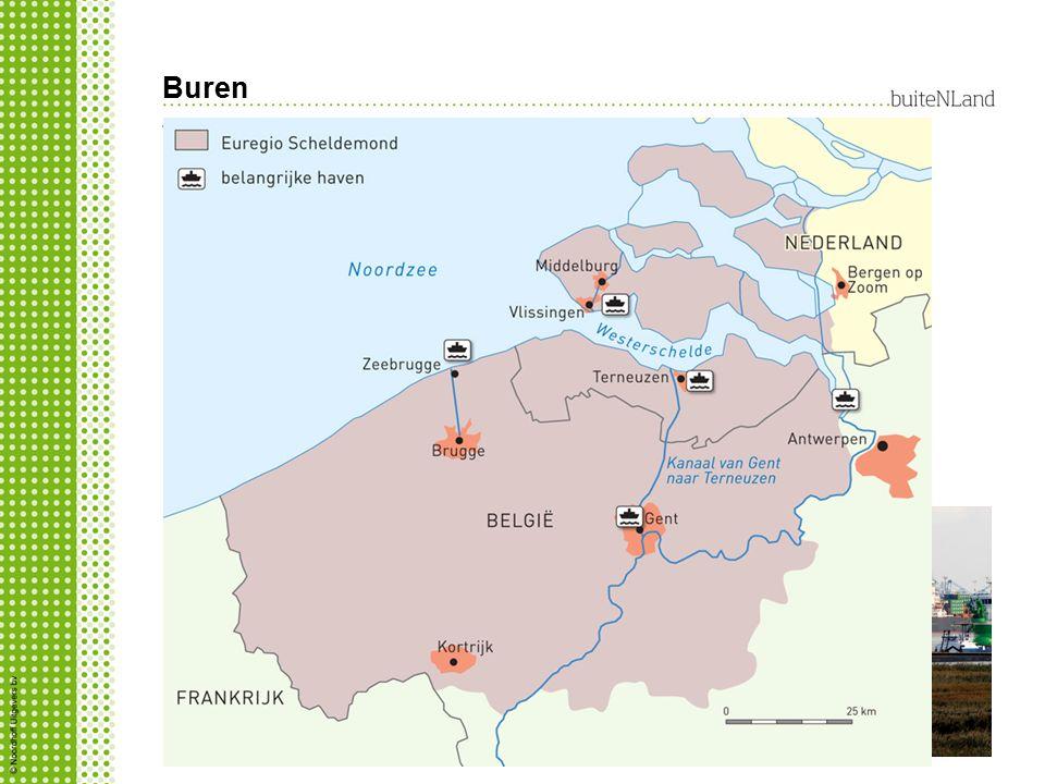 Buren Waarom is het Scheldeverdrag zo belangrijk voor België? Nederland verdiept de Westerschelde waardoor grotere zeeschepen haven van Antwerpen kunn