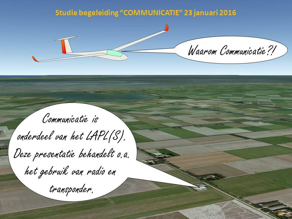 4.COMMUNICATIONS4. Communicatie 4.1. VFR COMMUNICATIONS4.1.