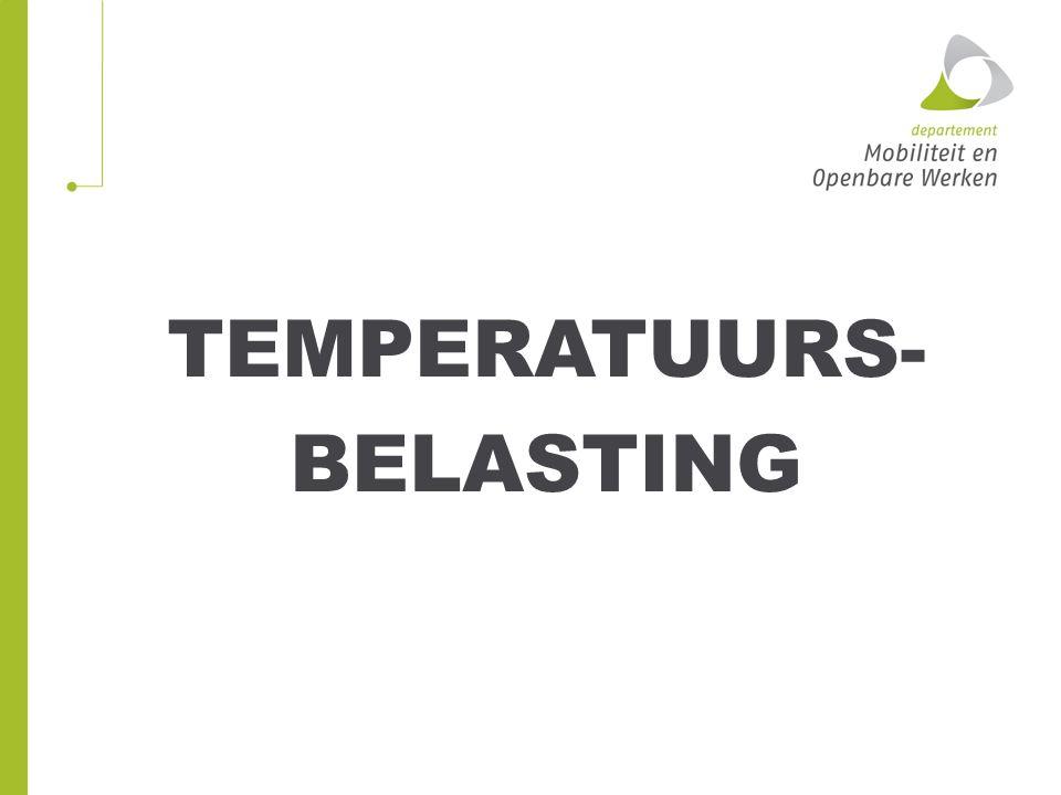 TEMPERATUURS- BELASTING