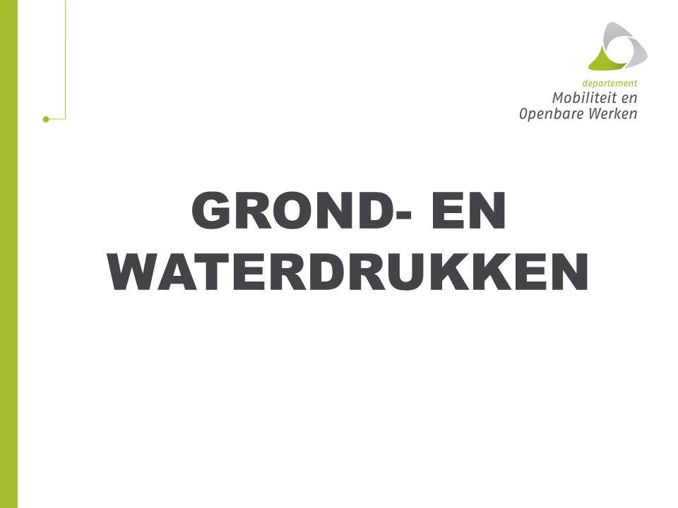 GROND- EN WATERDRUKKEN