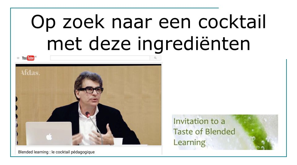 Voorbeeld Blended learning, Can tho