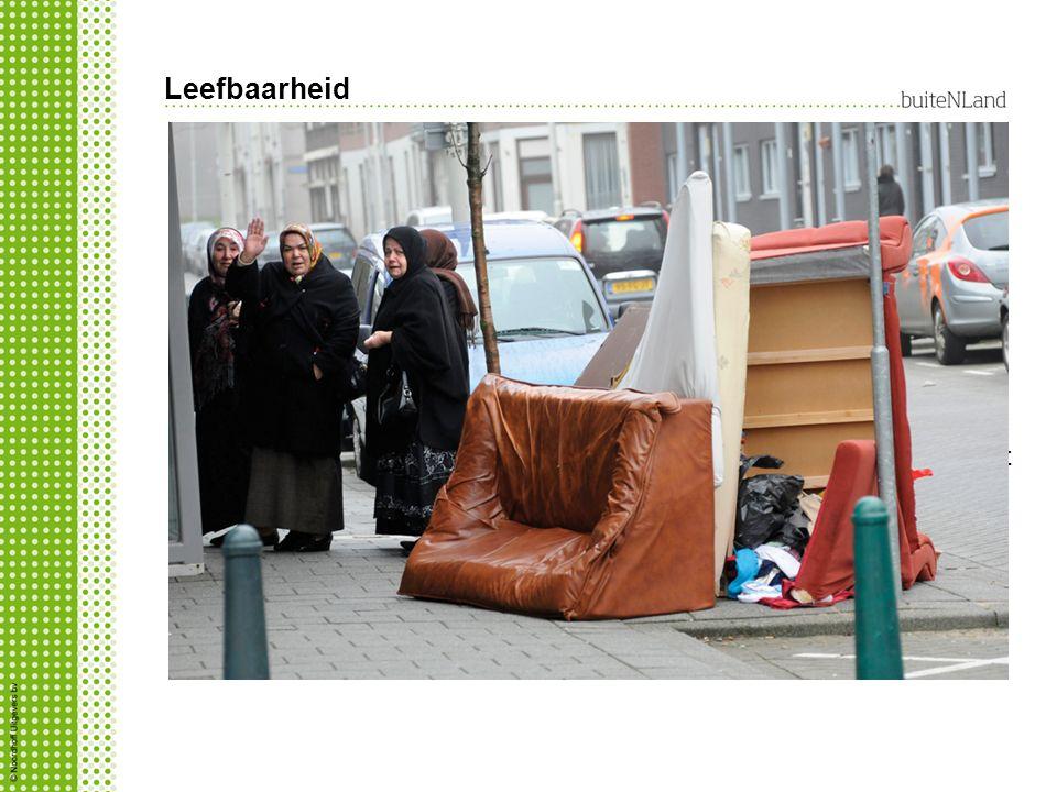 Leefbaarheid Om te zorgen dat een gemeente leefbaar en veilig blijft moet gemeente drie dingen doen: afval opruimen, openbare ruimte netjes en verlich