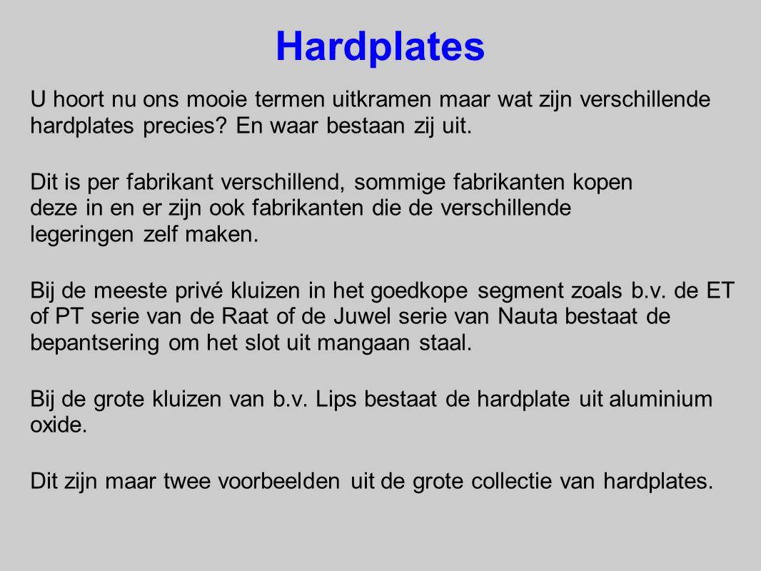 Hardplates U hoort nu ons mooie termen uitkramen maar wat zijn verschillende hardplates precies? En waar bestaan zij uit. Dit is per fabrikant verschi