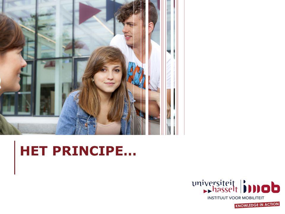 HET PRINCIPE…